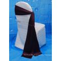 Preço de fábrica cadeira de casamento capa cetim cetim