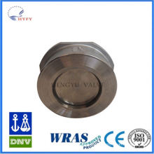 2015 Latest Version flapper type spring check valve
