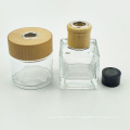fabricant 50 ml 100 ml 150 ml arôme carré vide reed diffuseur verre bouteille