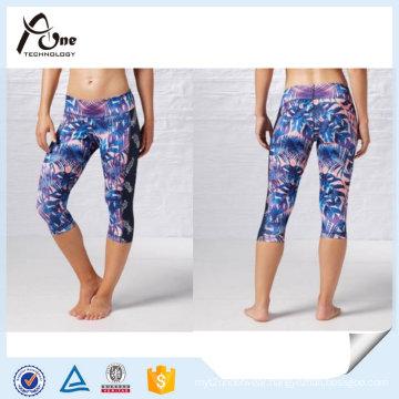 OEM Service Capri Yoga Pants Wholesale Women Sportswear Manufacturer