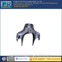 High strength steel alloy bicycle bracket fitting