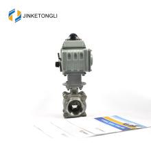 JKTLEB092 electrically actuated top entry hdpe ball valve