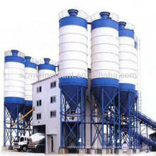 Hot sale HZS240 full-automatic ready mix soil cement mixing plant in stock