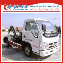 Forland pequeña capacidad de camión de basura para el precio barato