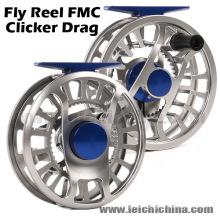 Moulinet de pêche à la mouche Clicker Drag de CNC