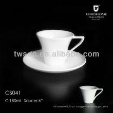 Hotel & casamento porcelana café Copa e oval Pires