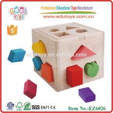 Caja De Bloque De Madera Hot Toys