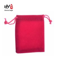large velvet drawstring jewelry bag