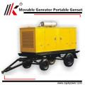 60квт щит питания супер Молчком тепловозный генератор запчасти, Звукоизолированные дизель-генератор Гана, Водонепроницаемый генератор двигатель