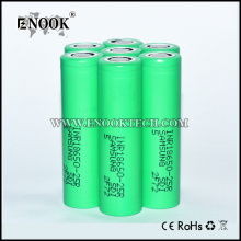 Samsung 25r 2500mah 3.7V batteri 18650