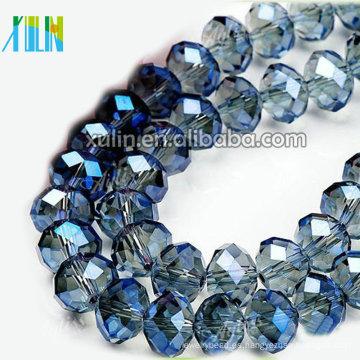 5040 cristal checo flojo perlas de vidrio 10mm rondelle facetado joyas