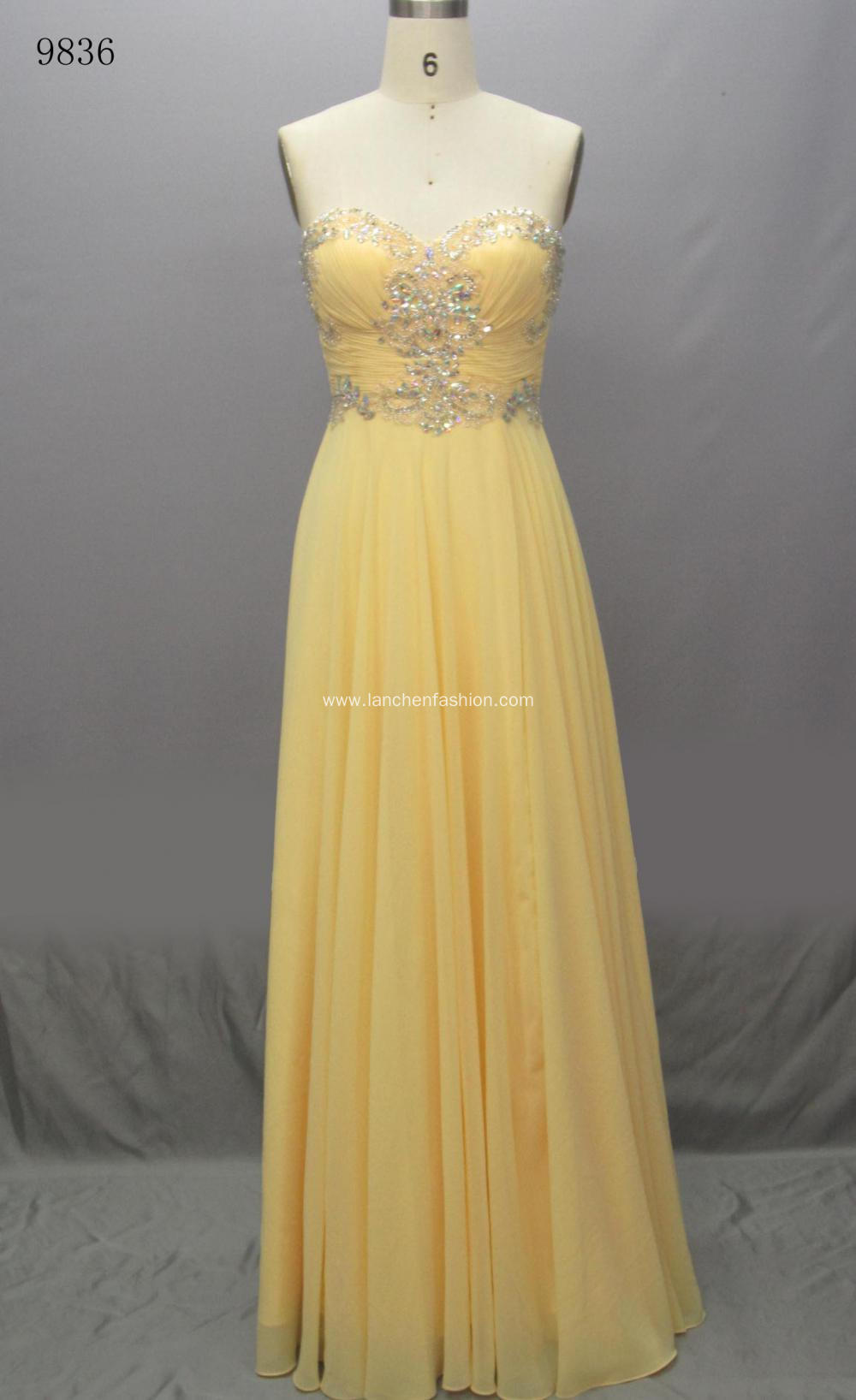 Chiffon Cocktail Prom Evening Dress