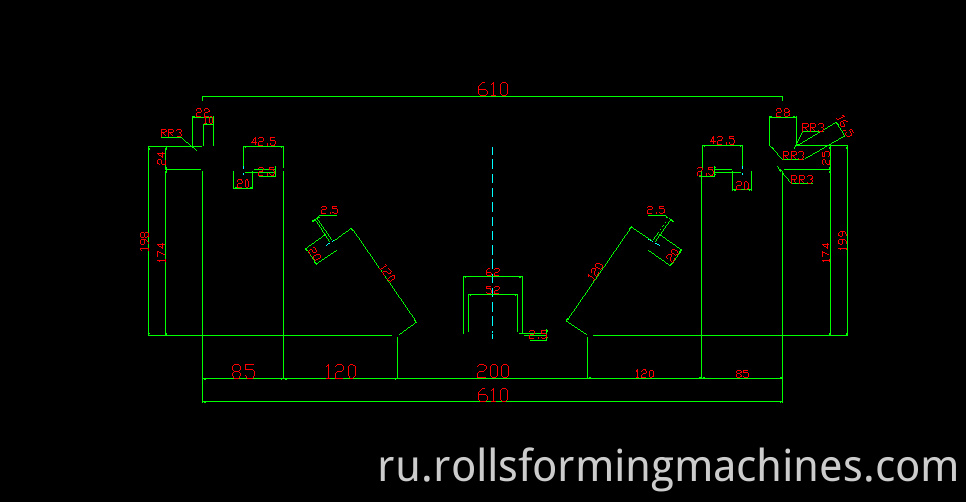 Long span Roof Roll Forming Machine