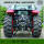Custom 4x4 4WD 70 HP Wheel Tractors Dengan CE