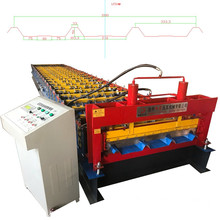Dixin trapezoidal roofsheet making rolling forming machine