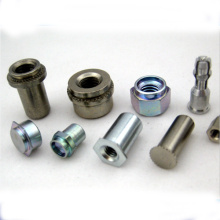 Socket head strong shoulder screw plain and zinc