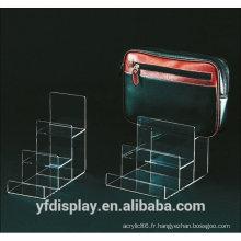 Support de sac à main acrylique personnalisé