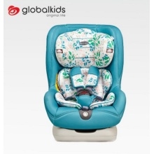 Baby car seats with blue red covers