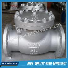Dn200 cubierta atornillada Wcb / Gp240gh / 1.0619 Válvula de retención del oscilación