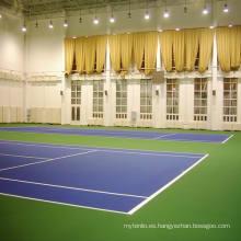 Incroll de alta calidad del suelo de deportes del PVC para el tenis interior