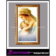 Christmas gift vintage style solid wood frame funny photo frames