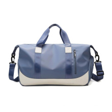 Colorful Large Capacity weekender  duffle men women travel bag custom sport gym bag with shoe compartment