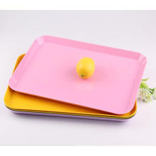 (BC-TM1005) Hot-Sell High Quality Reusable Colorful Melamine Tray