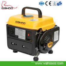 Generador de poder portátil de la gasolina / de la gasolina de 650W 700W2CE para el uso en el hogar (wh950)
