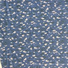 Tissu imprimé 100% polyester pour jupe femme