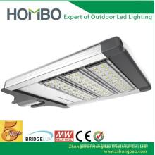Hot Sale 100W ~ 120W super branco levou rua lâmpada acima IP65 Impermeável alumínio conduziu lâmpada ao ar livre Bridgelux levou rua luz