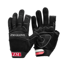 Membrane Liner Synthetic Leather Two Fingerless Glove for Postman Use