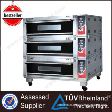 (CE) Matériel de restaurant commercial K171 professionnel grandes machines de boulangerie de four