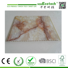 ПВХ пленка Ламинат WPC Внутренняя отделка стен и потолочная панель и плинтус