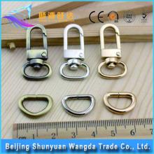 High Quality Accessories Design Zinc Alloy Material Metal Strap Bag Clip Buckle for Bag Accessoreis