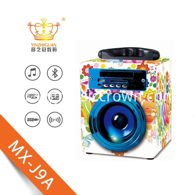festival Promotion Bluetooth Speakers With USB TF FM