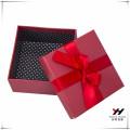 2016 en gros beau logo imprimé rouge bowknot imprimé boîte de papier