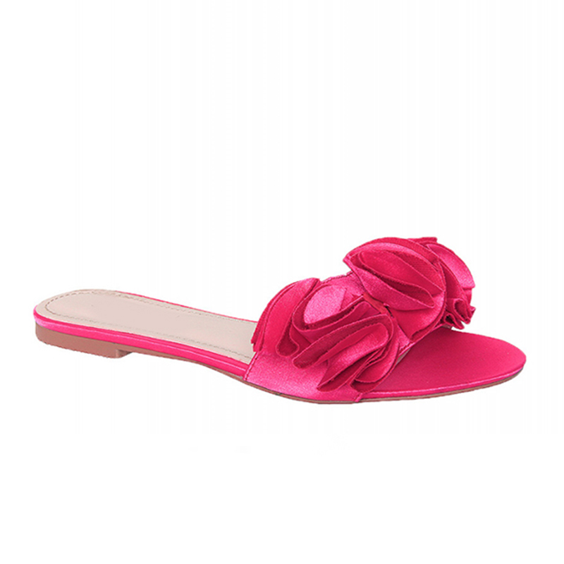 new design fashion slipper for young girl