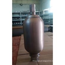 Acumulador de aço inoxidável para bomba química