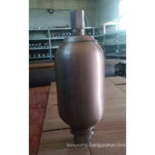 Stainless Steel  Accumulator For Chemical Pump