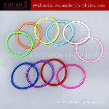 Hot Venda pulseira de silicone colorido pulseira de borracha