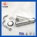 Stainless Steel Y Type BALL CHECK VALVE