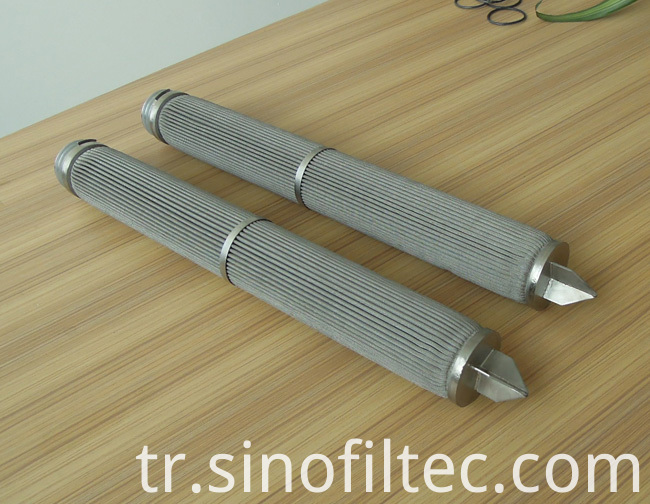 Filter Medium Pleated Filter Element
