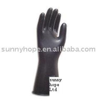 butyl rubber glove