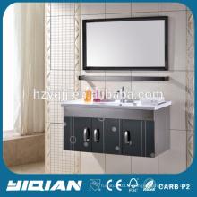 Évier simple moderne Classeur SS Meuble mural en acier inoxydable Salle de bain