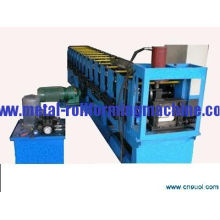 Custom 4kw, 0.5 - 1.0mm Thickness Metal Forming Machines / Gutter Rollformer