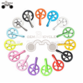 colorful fixed gear bike Crankset Crank Bicycle Cycling Parts