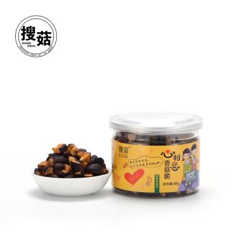 Snacks sanos de la seta del bocado de China