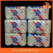 Shrink Wrap película de polietileno, respetuoso del medio ambiente rodillo de película de PE Made for Mutipack paquete de embalaje