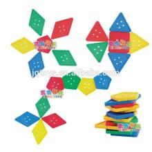 JQ1043 Hotsale Crianças Manipulante DIY Threading Puzzle Block