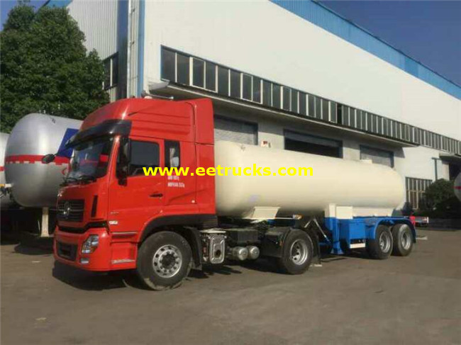 2 axle Liquid Ammonia Tanker Trailers